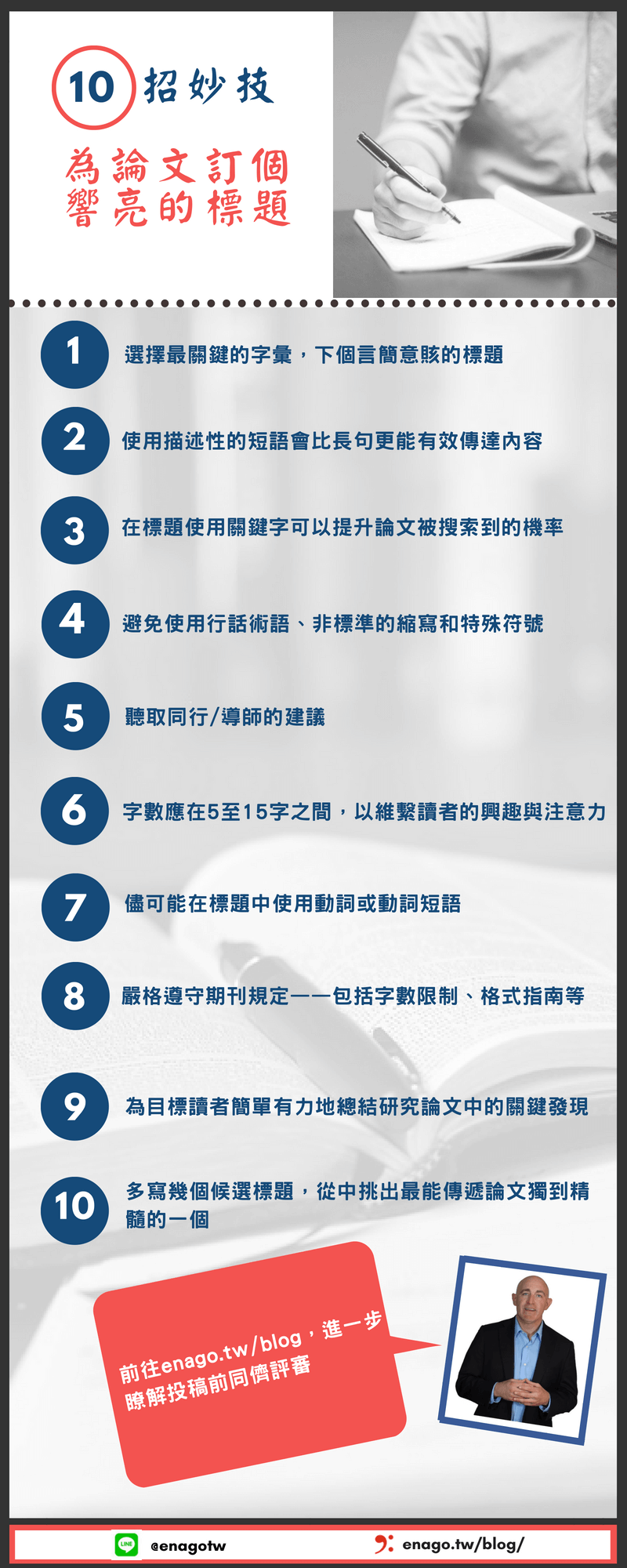 Top 10 Tips on Choosing an Attractive Research Title_Taiwan_Translated